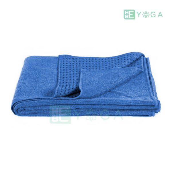 Khăn trải thảm Yoga màu xanh dương 2