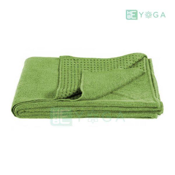 Khăn trải thảm Yoga màu xanh lá 2