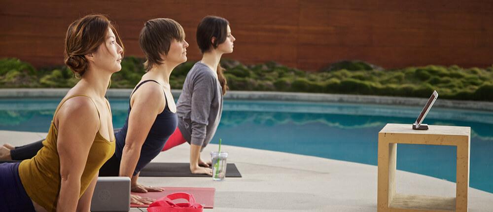 Thời gian tự do, không gian tự do khi tập Yoga online