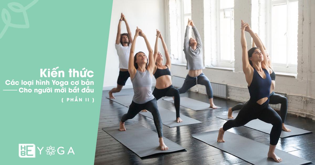 Kiến thức các loại hình Yoga cơ bản dành cho người mới bắt đầu