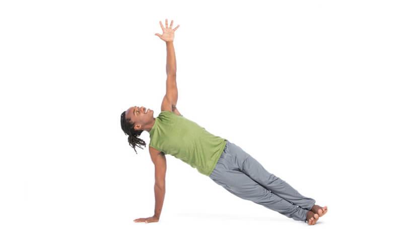 Side Plank Pose (Tư thế giữ thăng bằng nghiêng - Vasisthasana)