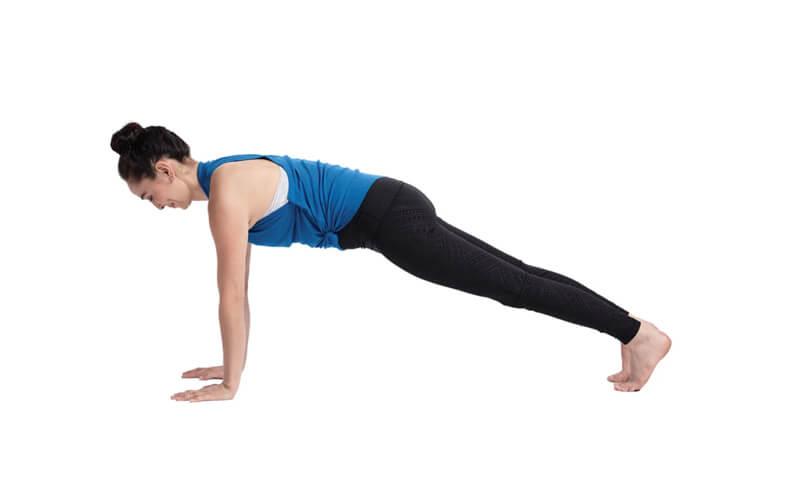 Plank Pose (Kumbhakasana - Tư thế tấm ván)