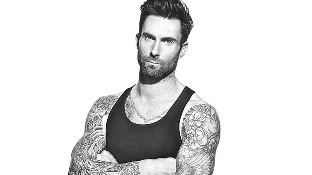 Adam Levine thủ lĩnh nhóm nhạc Maroon 5