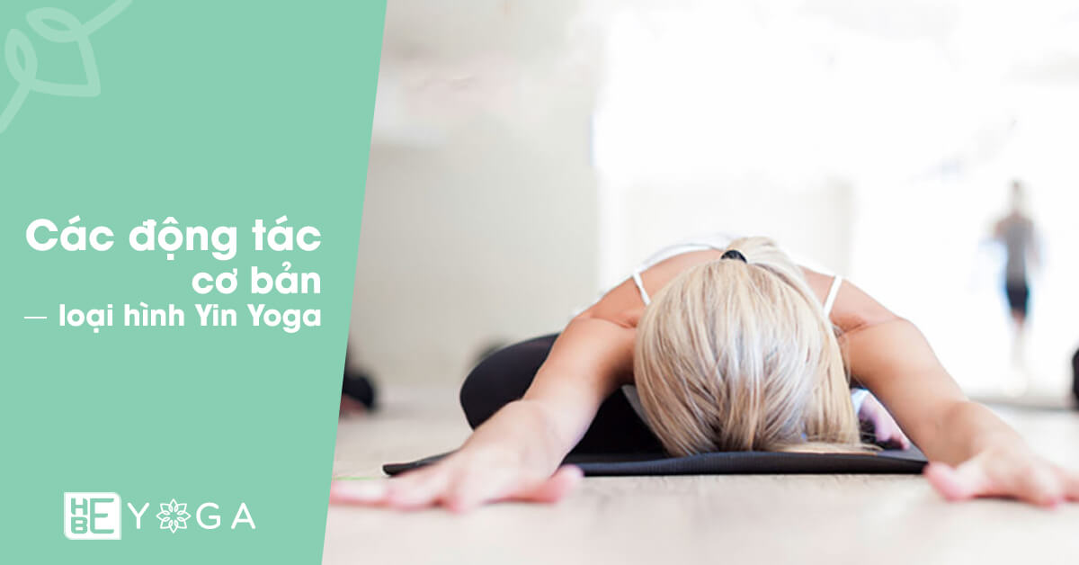 Động tác cơ bản của loại hình Yin Yoga