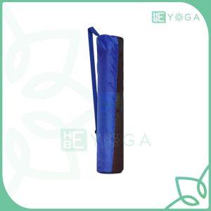 Túi đựng thảm Yoga vải dù dây kéo màu xanh dương