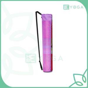 Túi đựng thảm Yoga vải dù dây kéo màu hồng