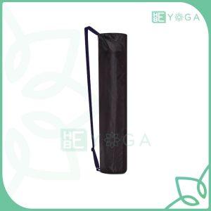 Túi đựng thảm Yoga vải dù dây kéo màu đen