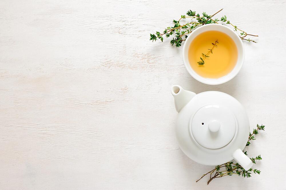 Sử dụng các loại thảo mộc, trà
