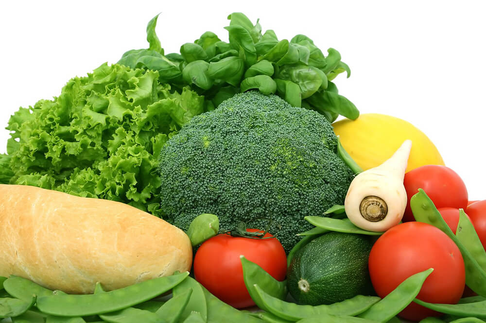 Các loại rau củ có màu xanh