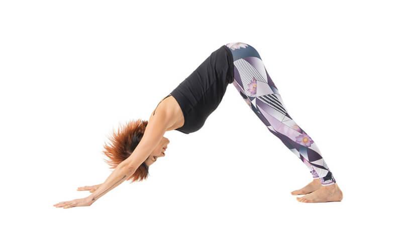 Downward-Facing Dog Pose ( Adho Mukkha Svanasana - Tư thế chú chó cúi mặt)
