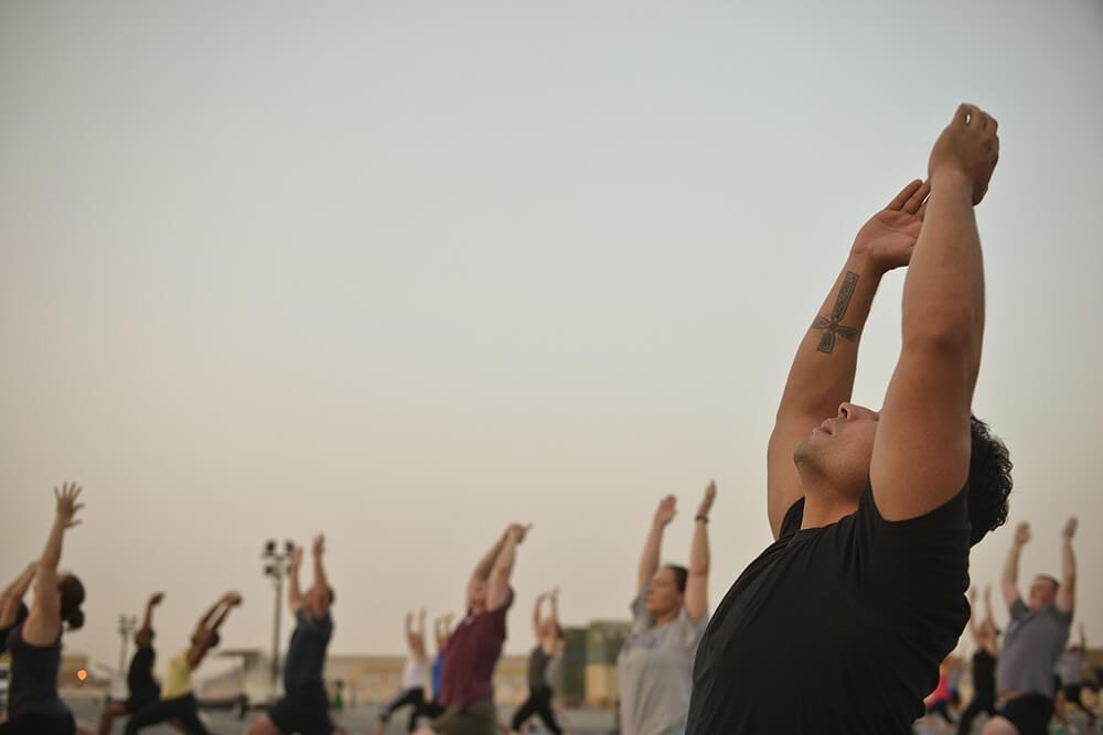 Yoga kết nối với cộng đồng