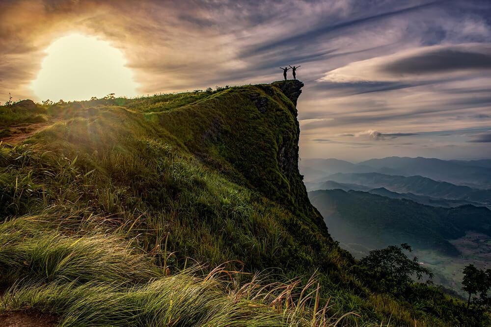 Cảm nhận thiên nhiên trong lành vào buổi sáng